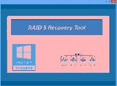Screenshot of RAID 5 Recovery Tool