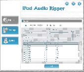 Screenshot of ROBUST iPod Audio Ripper