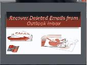 Recover Deleted Email from Outlook Inbox Screenshot