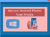 Recover Deleted Photos from Mobile Screenshot