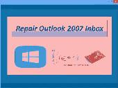 Screenshot of Repair Outlook 2007 Inbox