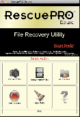 RescuePRO Deluxe for OS X Mac Screenshot