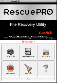 Screenshot of RescuePRO for OS X Mac