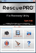 RescuePRO for Windows PC Screenshot
