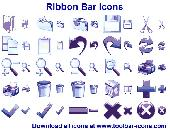 Ribbon Bar Icon Set Screenshot