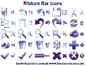 Ribbon Bar Icon Set Screenshot