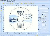Screenshot of RonyaSoft CD DVD Label Maker