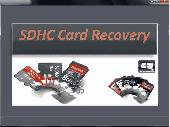 Screenshot of SDHC Card Recovery