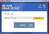 SFWare Repair ZIP File Screenshot