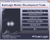 Screenshot of SamLogic CD Menu Creator