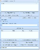 Search Multiple PST Files Software Screenshot