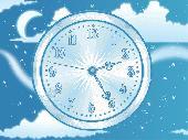 Sky Flight Clock Live Wallpaper Screenshot