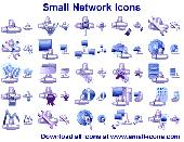 Screenshot of Small Network Icons