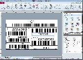 Screenshot of SmartVizor Variable Barcode Label Printing Software