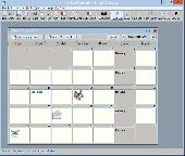 Screenshot of Smart Calendar Software