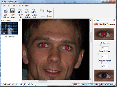 SoftOrbits Red Eye Remover Screenshot