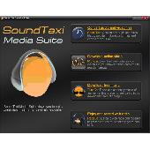 Screenshot of SoundTaxi Media Suite Coupon