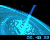 Screenshot of Space Flight 3D Screensaver
