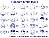 Standard Smile Icons Screenshot