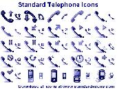 Standard Telephone Icons Screenshot
