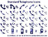 Standard Telephone Icons Screenshot