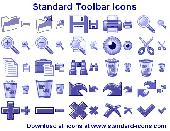 Standard Toolbar Icons Screenshot