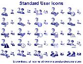 Standard User Icons Screenshot