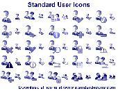 Standard User Icons Screenshot