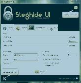 Steghide UI Screenshot