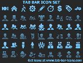 Tab Bar Icon Set Screenshot