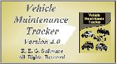 Vehicle Maintenance Tracker Screenshot