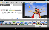 Screenshot of VideoPad Free Video Editor for Android