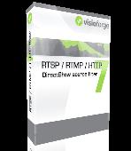 Screenshot of VisioForge RTSP/RTMP/HTTP filter