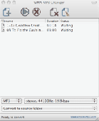 WMA MP3 Changer MAC Screenshot