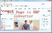 Web Page To BMP Converter Screenshot