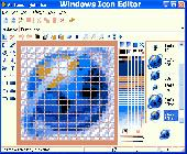 Windows Icon Editor Screenshot