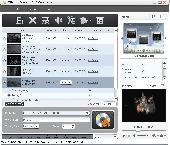 Screenshot of Xilisoft Video to DVD Converter