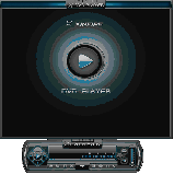 Screenshot of Xinfire DVD Player