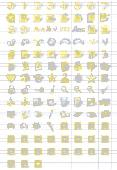 Yellow Icon Collection Screenshot