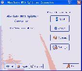 Absolute MP3 Splitter & Converter Screenshot