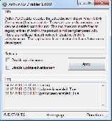 Antivir AD Disabler Screenshot