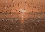 apl sunset over the cornish coast puzzle Screenshot
