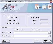 AXPDF free PDF to Word Converter Screenshot