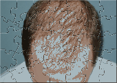 Bald Man Puzzel Screenshot