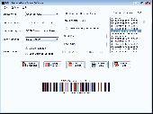 Barcode print creator Screenshot