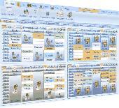 BenchMark Timetable Screenshot
