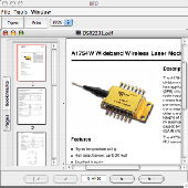 Big Faceless Java PDF Viewer Screenshot