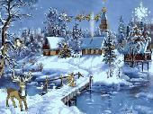 Screenshot of Christmas Symphony Screensaver