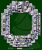 Christmas Wreath Mahjong Solitaire Screenshot