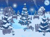 Christmas Yard Screensaver Screenshot